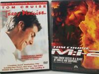 Tom Cruise DVD Movie Bundle - Mission Impossible 2 - Jerry Maguire