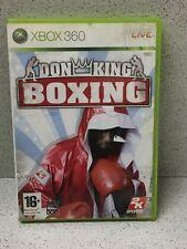 JEU XBOX 360 DON KING BOXING AVEC NOTICE