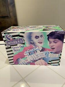 Beetlejuice Gross Out Meter Kenner Vintage Movie Toy Playset 1990