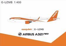 Panda Models EasyJets Airbus A321Neo G-UZMB 1/400 GeminiJets Phoenix JC Wings