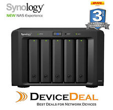 "Synology Expansion Unit DX513 5-Bay 3.5"" Diskless NAS Scalable Compatible Models"
