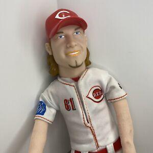"Cincinnati Reds - Bronson Arroyo - Toy Plush Doll Idegy MLB Baseball 16"" Pitcher"