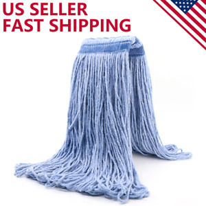 24 oz Cotton Heavy Duty Loop-End String Swinger Mop Head Replacement Easy Wring
