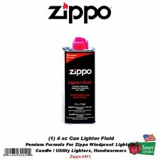 Zippo 4 oz Can Fuel Fluid, For: All Zippo Pocket Lighters 3141 #4FC