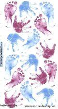 EK Success Sticko Sticker - Babys Pergament blau & lila Baby Jungen Drucke