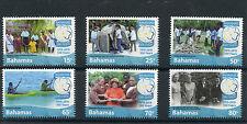 Bahamas 2015 Gomma integra, non linguellato Girl Guides 100 anni 1915-2015 6v Set scoutd Scout FRANCOBOLLI
