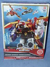 Bandai Power Rangers Megaforce Nippon Edition Gosei Great Megazord New