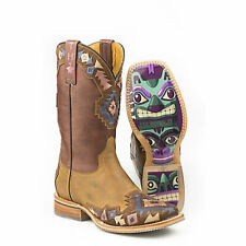 Tin Haul Boots Tin Haul Ladies One Tribe Totem Sole Boots