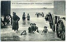 CP 62 - PAS-DE-CALAIS - Boulogne-sur-Mer - Baigneurs et Baigneuses