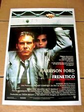 FRANTIC Vintage Movie Film Poster HARRISON FORD ROMAN POLANSKI EMMANUELLE SEIGER