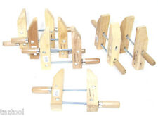 "6 pcs  7"" wood working clamps tools wood handscrew  clamps set"