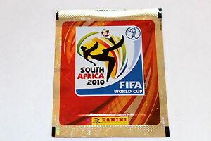 Panini Wc WM 2010 South Africa – 1 X Bag Packet Bustina Sobre Shiny Glitter