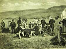 HAYDEN EXPEDITION TEAM COLORADO 1874 Art Print Matted