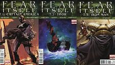Fear Itself #7 Point SET 7.1 7.2 7.3 Point One Two Three Comic Books - Marvel
