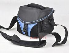 blu Foto camere Digitali borsa per sony canon nikon Samsung Fotografia e Video