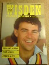 WISDEN - ENGLAND v INDIA - Feb 1985 Vol 6 # 9