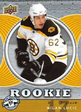 2007-08 UD Mini Jersey Collection #107 Milan Lucic RC Rookie Bruins