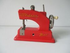 Toy Child's sewing machine Vulcan minor red version