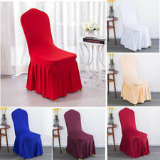 Spandex Elastic Stretch Protector Chair Covers Hotel Home Dining Chair Slipcover