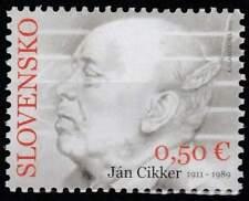 Slowakije postfris 2011 MNH 666 - Jan Cikker