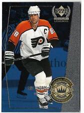1999-00 Upper Deck Century Legends ERIC LINDROS (ex-mt) Flyers