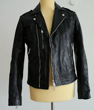 Original Dsquared² Leather Jacket Lederjacke S74 AM0375 Größe: 52 NEU + Rechnung