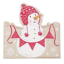 Santa and Friends - Shaped Paper Napkins - Christmas Tableware