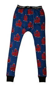 Peter Alexander men's Dragon print long John pyjama pants  size small