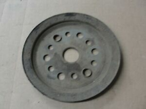 CHEVY 1966 1967 1968 283 327 Corvette Single Groove Crank Pulley 3755820 BC