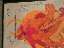 A perfect circle poster - 2012 signed