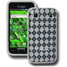 AMZER Clear Luxe Argyle Skin Case Cover For Samsung Galaxy S I9000 Vibrant T959
