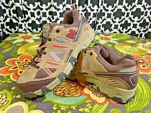 New Balance 644 KA644BRG Tan Brown Red Hiking Trail Walking Shoes - Sz. 6 M NWOB