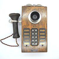 Electro Mechanical Works Boston Standard Automatic Telefon Wandtelefon USA
