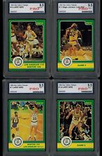 1984 Star CELTICS CHAMPS SET of 50 cards ( 3 cards PRO graded 9.5 )