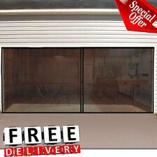 Garage Screen Door Double Instant Magnetic Closure Insect Mosquito Net Fresh Air