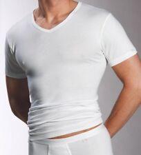 3 x Mey Noblesse Unterhemd  V-Neck  2807  Gr. 6 / L   Farbe: weiss