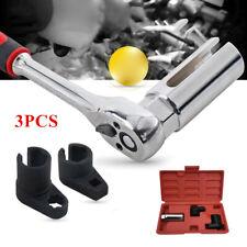 3/8 3PCS Car Automotive O2 Oxygen Sensor Socket Wrench Kit Wrench Removal Tool