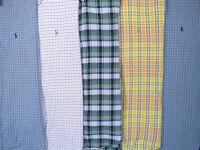 Lot Of 5 Ralph Lauren Polo Short Sleeve Button Front Shirts Mens L Large 3 NWOT