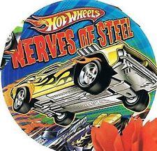 Hot Wheels Party Supplies - Party Side/Dessert Plates - 8pk - 8cm