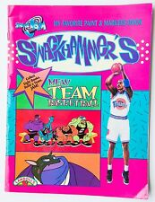 Swackhammers Space Jam Book. Basketball. Paint and Markers. 2 Copies.