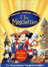 I Tre Moschettieri - Topolino, Paperino, Pippo (2004) DVD Ologramma Rettangolare
