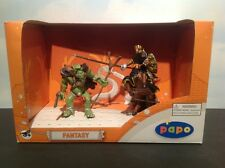 Papo Fantasy Figures 48944 Papo Orc Set Orc Horse King Richard With Spear
