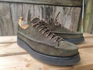 Yuketen all handsewn olive Sneaker Moc UK 9 US 10 worn once