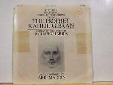 THE PROPHET KAHLIL GIBRAN 7 INCH 33 RPM LITTLE LP RICHARD HARRIS SLIGHT WEAR
