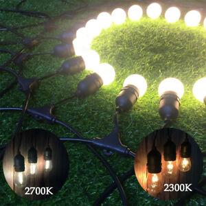 5 Pcs Hanging Sockets Mains Powered Outdoor Garland String Lights Christmas Tree