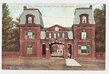 NEW YORK 870-POUGHKEEPSIE -The Entrance, Vassar College  Undivided Back