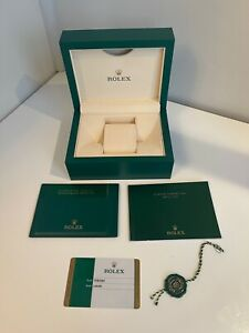 GENUINE ROLEX EMPTY BOX - Great condition - OYSTER S 39137.71
