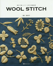 Wool Stitch by Yumiko Higuchi Wool Yarn Embroidery Designs - Japanese Craft Book