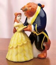 B2) DISNEY BEAUTY AND THE BEAST SALT AND PEPPER SHAKERS BELLE WESTLAND NIB