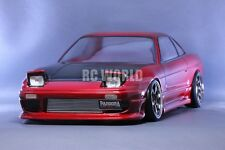 1/10 RC Car Body Shell NISSAN 240SX  ONE-VIA  Drift Body  W/ Light Buckets